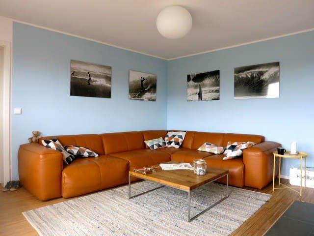 Modernes Deluxe Apartment mit Sauna für 6 Personen - Hörnum (Sylt) - Flat