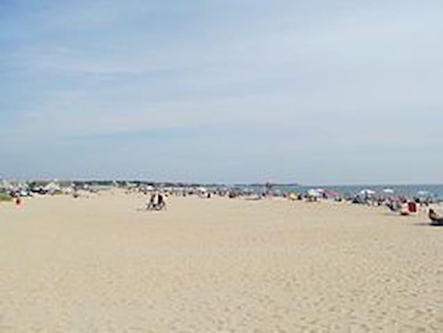 Craigville beach 1/2 mile away