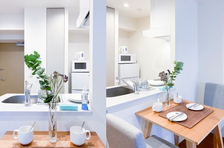 #102 New open! Shinjuku 4 mins, Cozy apt 1BR!