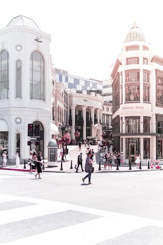 Shop around Rodeo Drive (5 miles away)