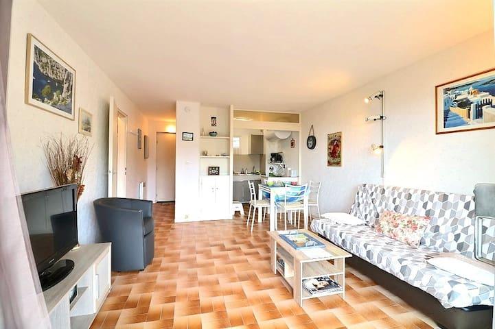 Appartement 4/6 personnes proche mer