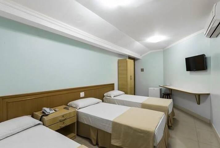 Pompeu Rio Hotel - Standard Quádruplo