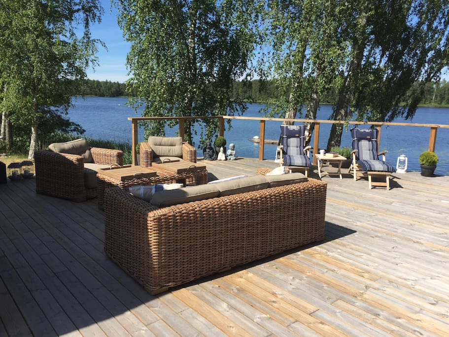 214 Paradis Med Vatten In P 229 Stugknuten Cabins For Rent