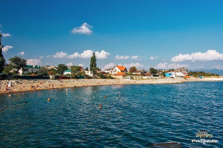 Уютный дом для отдыха на море - Myskhako - House
