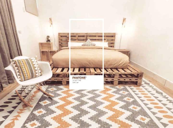 G'day inn. —  2F Gold leaf |Netflix|加大雙人床|獨立乾濕分離衛浴