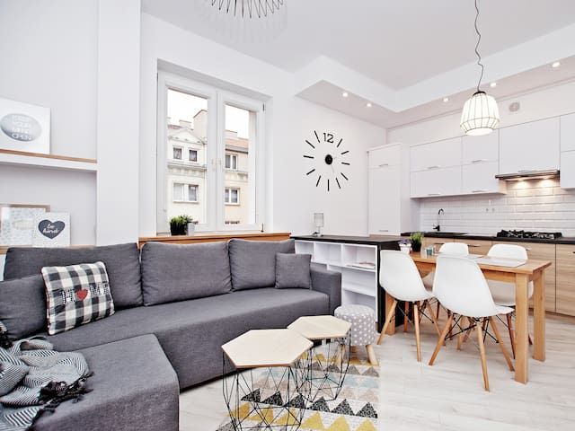 Cozy apartment in the heart of the city, 1 Maja!