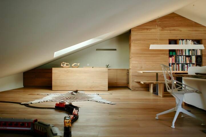 Deluxe apartment in Zuoz -St Moritz - Zuoz - Byt