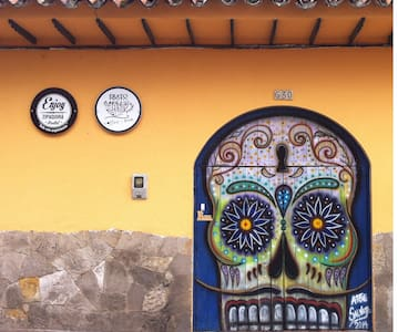 Casa colonial del centro histórico - Zipaquirá