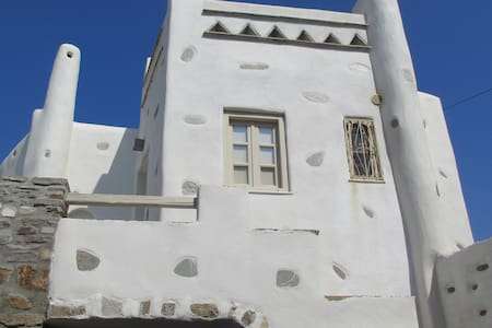 Tradition & luxury in Paros- manor house for 10ppl - Lefkes - Townhouse
