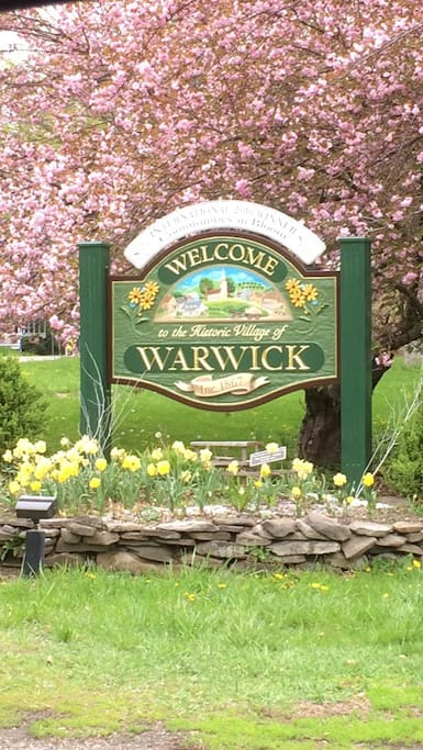 Majestic, charming town of Warwick NY in upstate NY ( just one hour to NYC).