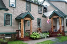 Large 2 unit Town home with separate entrances and plenty of free parking. Summertime at Red Fox, great hiking and waterfalls to go see, I provide all directions and brochures to help plan your stay.