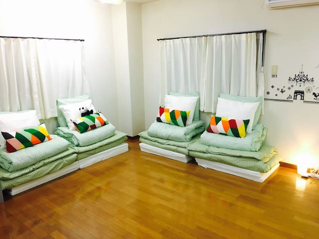 S01. Affordable yet comfortable place in Saga! - 佐賀市 - Huoneisto