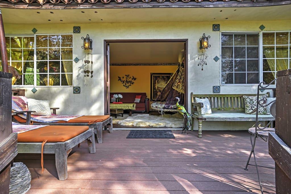 With a spacious patio in a fairytale setting, this home promises a rejuvenating escape!