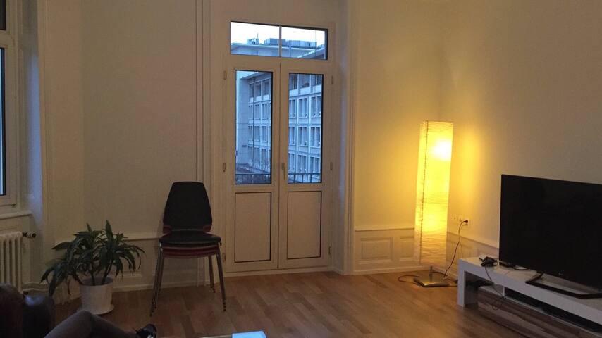 Zentral gelegene Jugendstil-Wohnung - Basel - Daire
