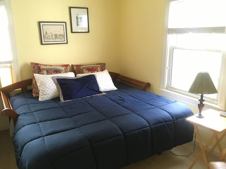 Private bed/bath (twins or king) by Ballston Metro