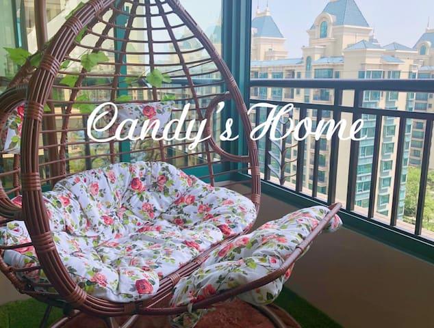 恒大海上威尼斯小高层景观房 3卧室温馨舒适 亲子游玩度假优选 Candy's Home