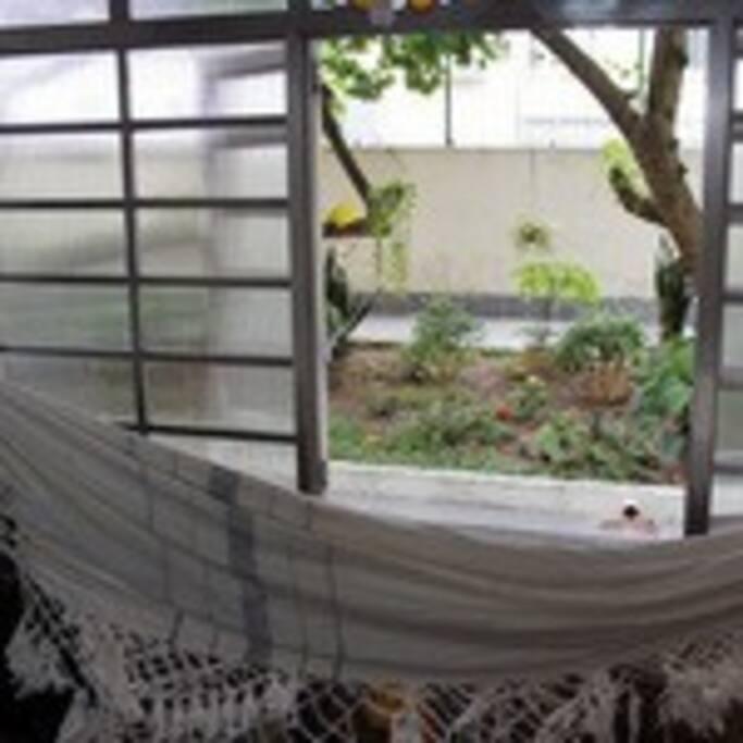 varanda do quarto/sala