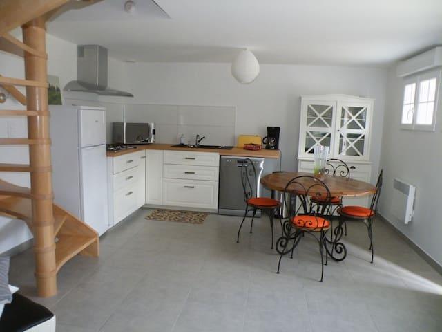 La petite maison dans la ferme... dans le vexin - Civières - Casa