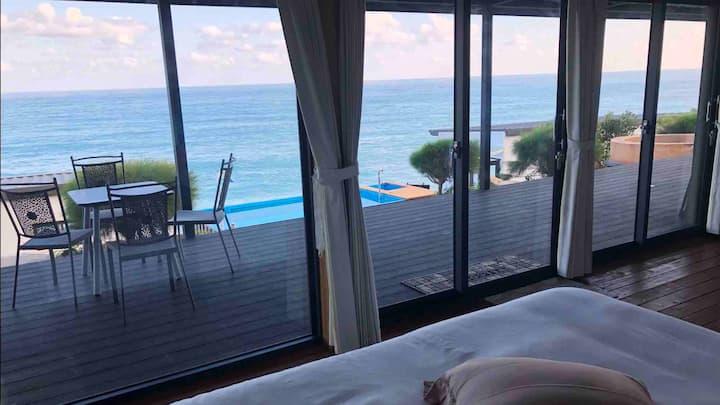 Ocean Front 濱海星空泳池大套房#2: W/ Pool Deluxe Room #2