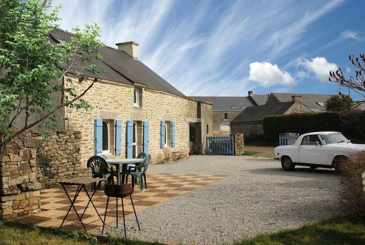 Maison bretonne au calme