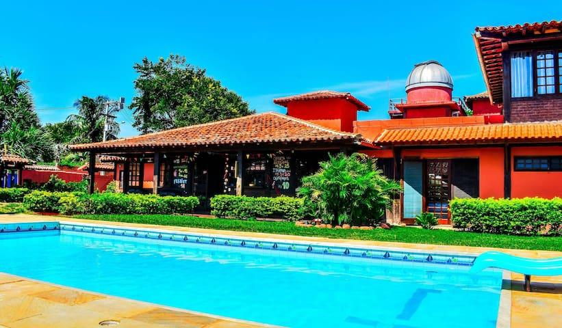 Habitación Doble Económica a 100 mts de la Playa!