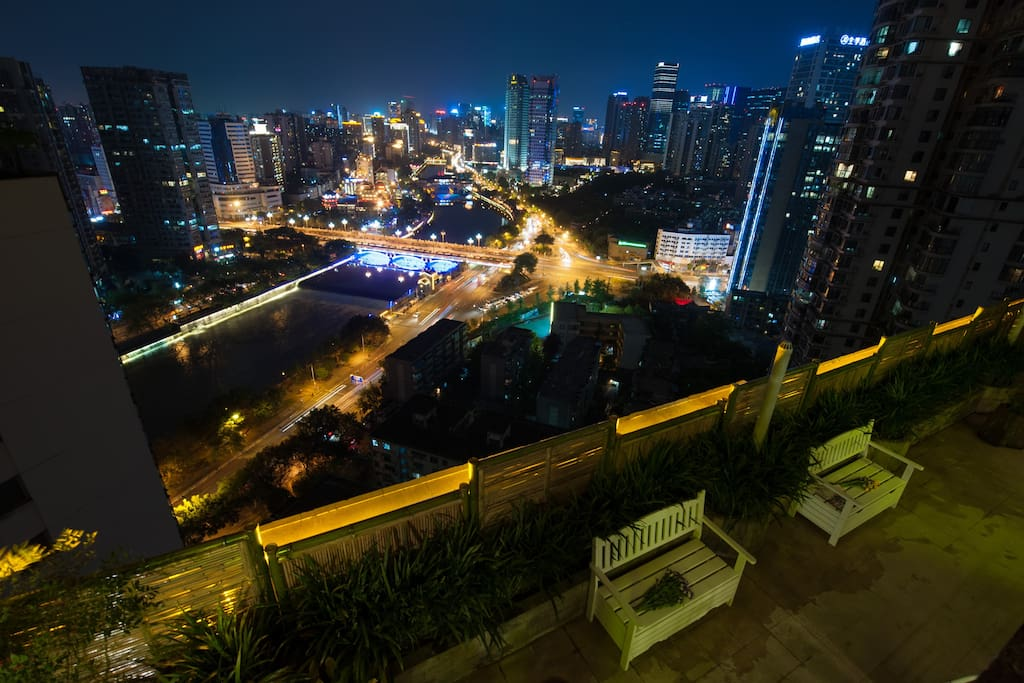 向西的夜景NIGHT VIEW