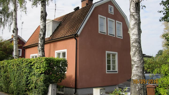 Your own house 13 minutes from Stockholm City