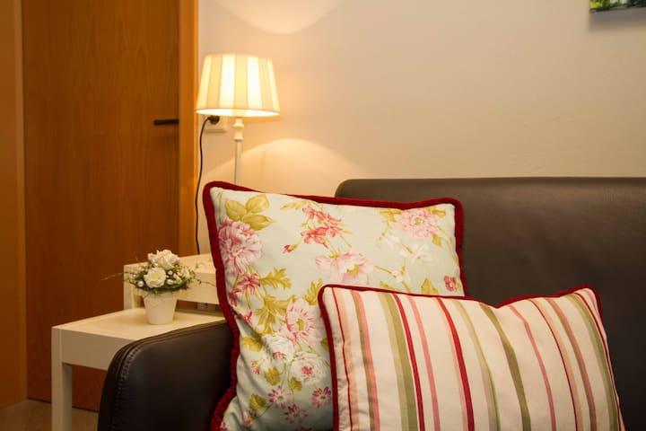 Gästehaus Trostelhof, (Salem), Ferienwohnung 7, 52 qm, 1 Schlafzimmer, max. 2 Personen