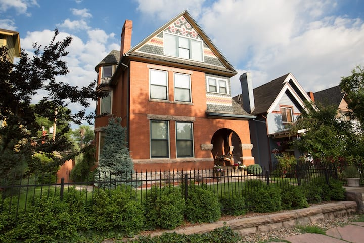 Denver Victorian Mansion Apartment