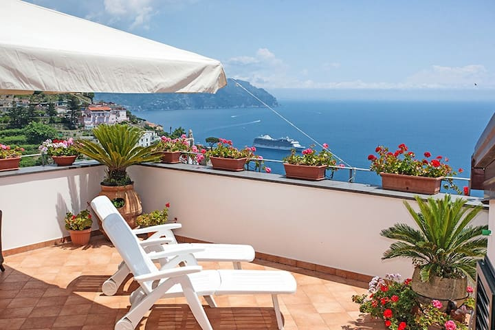 Appartamento vista panoramica sul mare - Amalfi - Apartemen