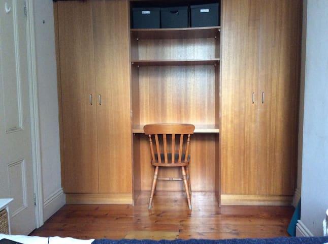 Bedroom desk/wardrobe