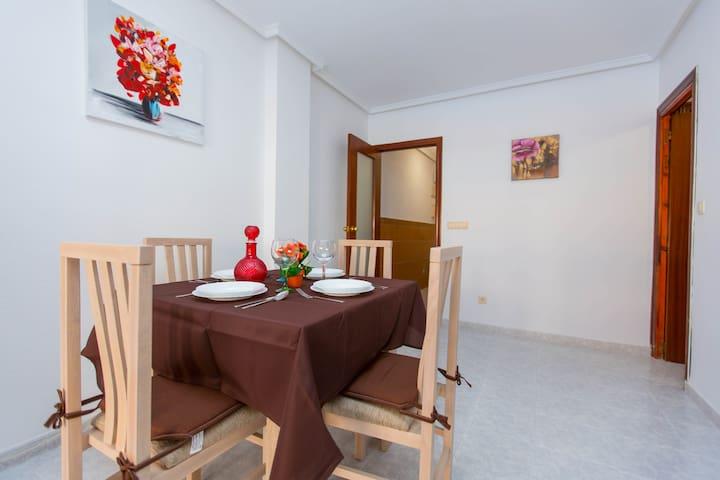 Apartamento La Tejera con WIFI gratuito
