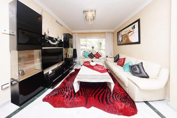 Luxury apartment 5 min from puerto banus