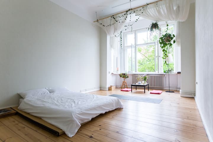 ...wake up in a sunny, calm room... great location