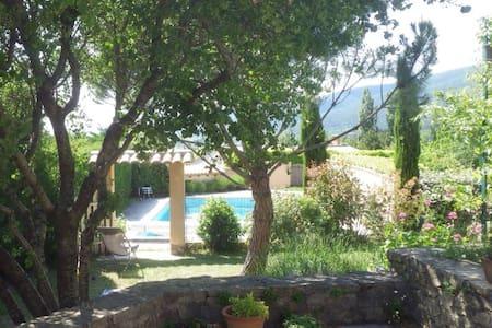T3 70m2 terrasse piscine Dieulefit - Dieulefit - Hus