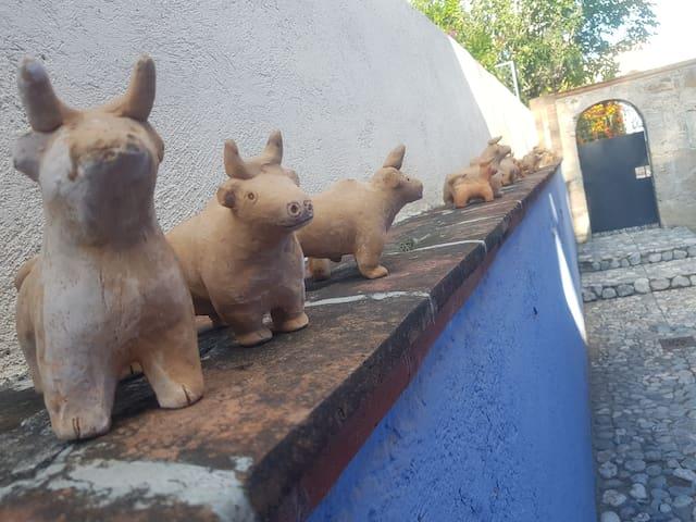Casa de Los Toritos de Tequis (alberca)