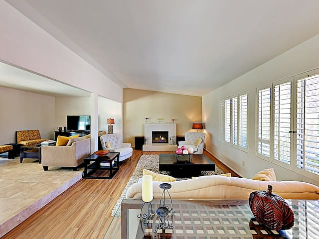 Enjoy fashionable furnishings throughout your stylish home.