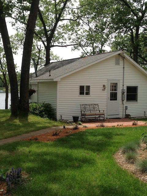 Corner Cottage on Brooks Lake, Newaygo, Michigan