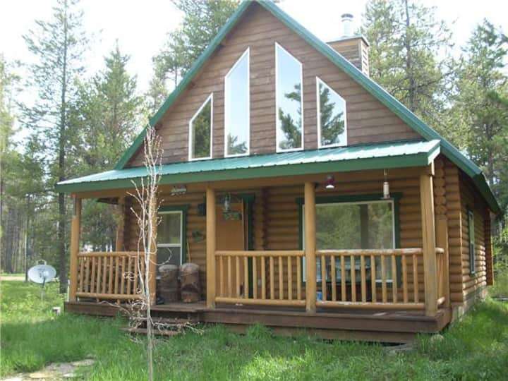 Log Cabin in Donnelly Idaho