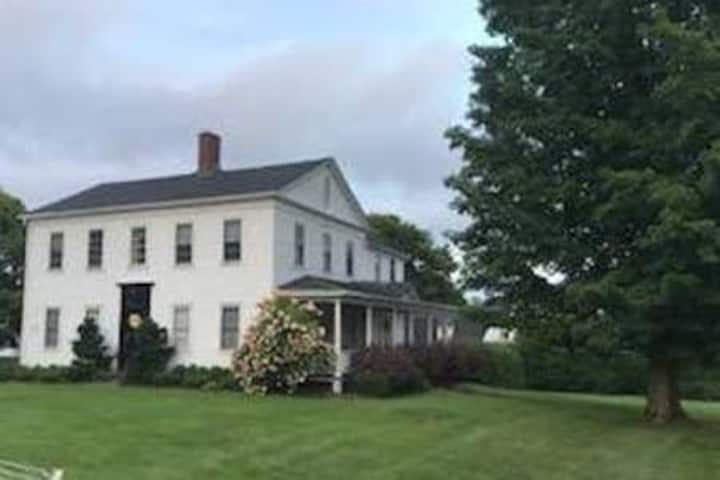 Historic Webster house on Litchfield green