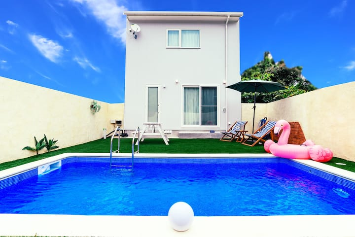 88 Private Pool Villa♡4bedroom /Max18ppl/Wifi  A