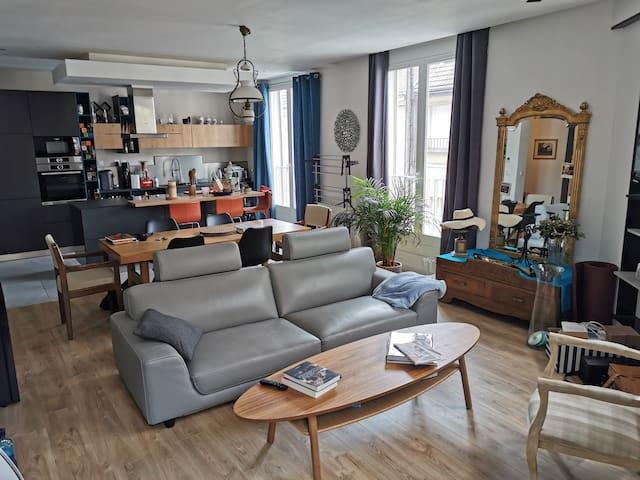 Appartement spacieux et calme - BEAUVAIS centre