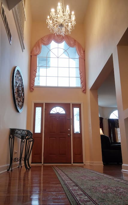 Majestic entranceway: You will feel like a king/queen
