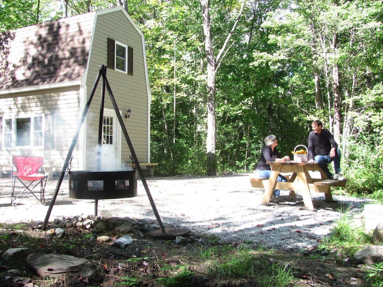Lodging at Parker's Cottage is saving you money.