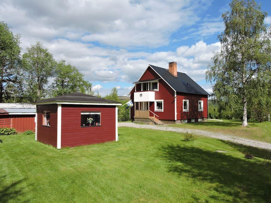 lappland schweden haus am see flats for rent in verrissj v sterbottens l n sweden. Black Bedroom Furniture Sets. Home Design Ideas