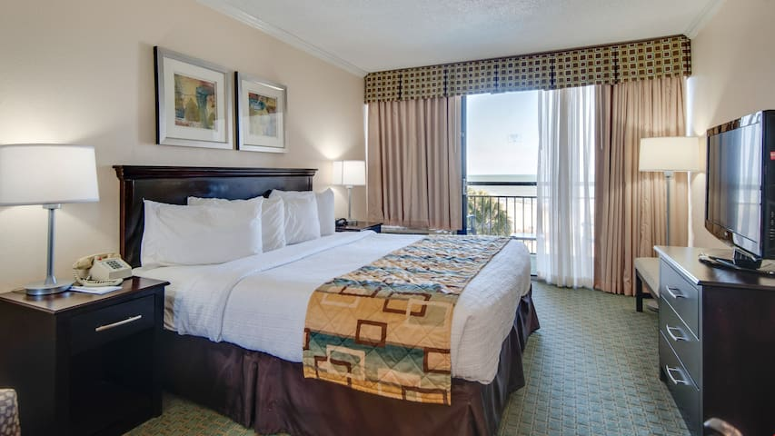 Pet Friendly Suite | Oceanfront Balcony | Indoor Lazy River!