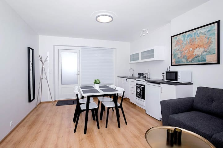 New and cosy apartment near downtown Reykjavík - 셀티아르나르네스