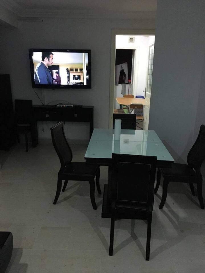 LAOUINA  joli S2 propre et haut standing meubl