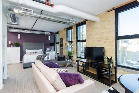 Urban Loft Studio Exchange District - Winnipeg - Lejlighedskompleks