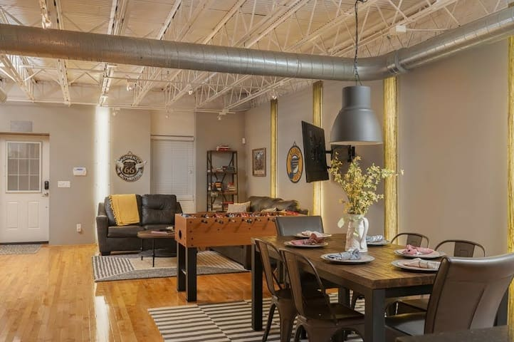 Our Nest in Soulard with style and comfort